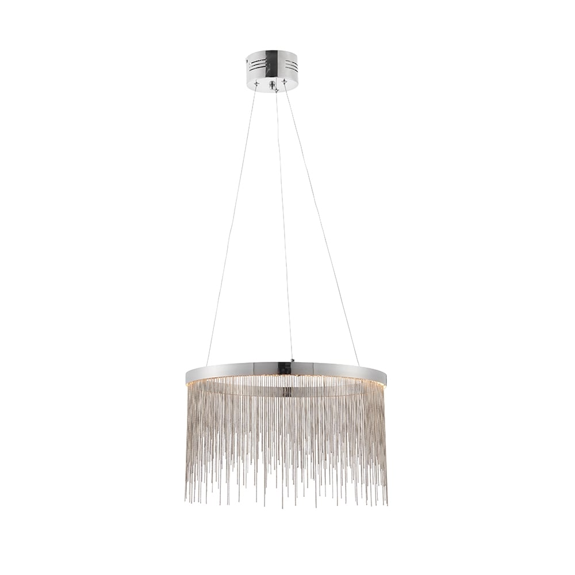 Zelma pendant - Chrome plate u0026 silver effect chain  sc 1 st  Moonlight Design & Pendant Lights   Ceiling Pendant Lights   Moonlight Design