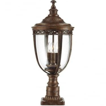 English Bridle large pedestal - British Bronze