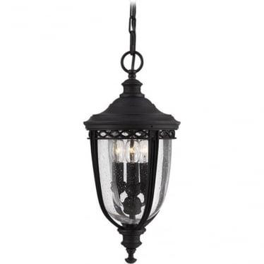 English Bridle medium chain lantern - Black