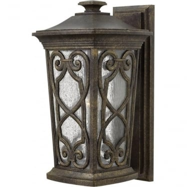 Enzo Medium Wall Lantern Autumn