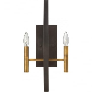 Euclid 2 Light Wall Light Spanish Bronze