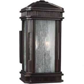 Federal Small Outdoor Lantern Gilded Bronze