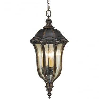 Baton Rouge Duo-Mount Chain Lantern Walnut