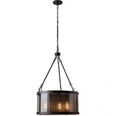 Bluffton 3 light Pendant Oil Rubbed Bronze