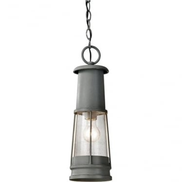 Chelsea Harbor Chain Lantern - Grey