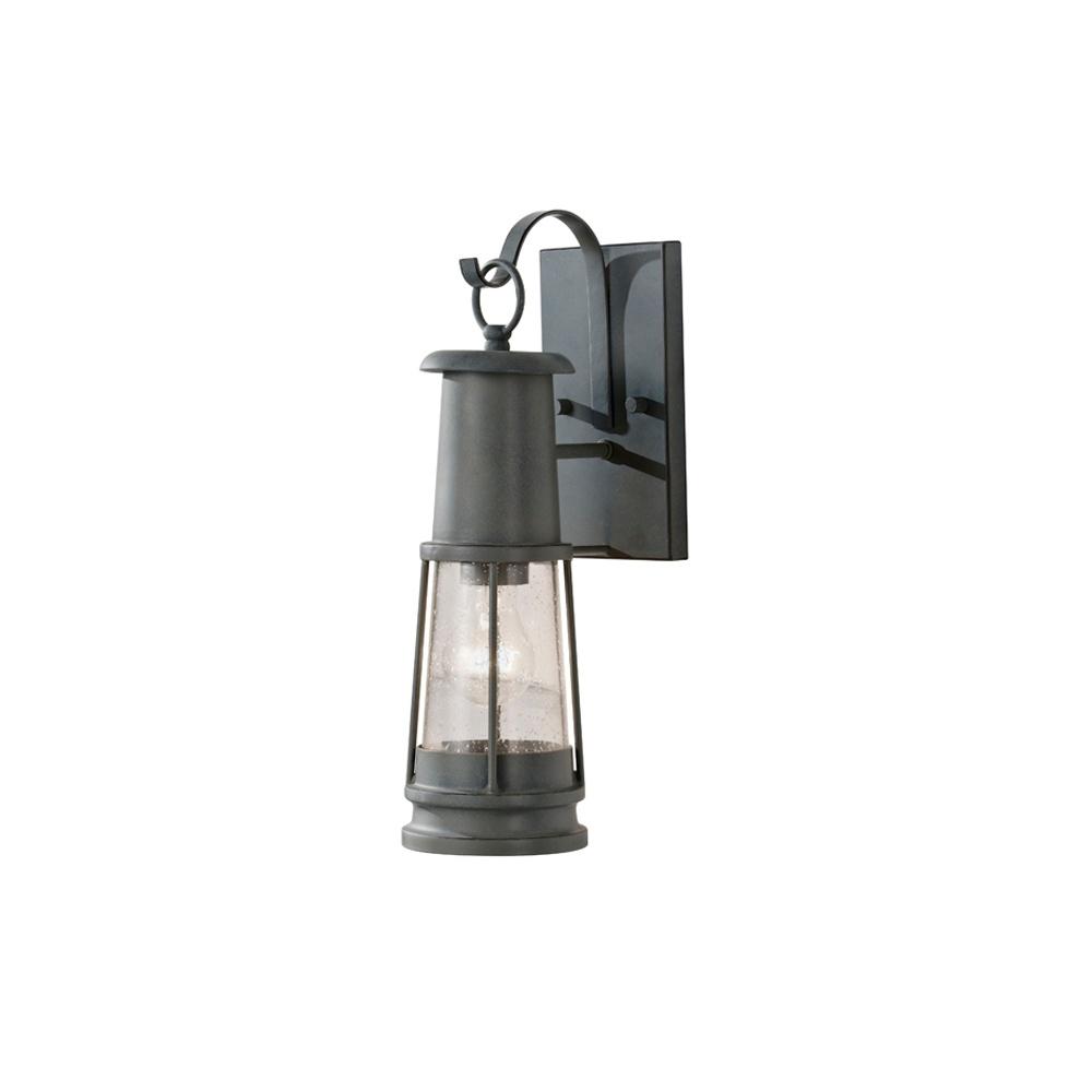 feiss feiss chelsea harbor wall lantern grey exterior lights