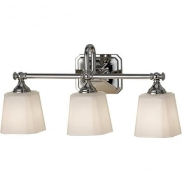 Concord 3 Light Above Mirror Light Polished Chrome