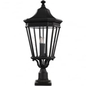 Cotswold Lane large pedestal - Black