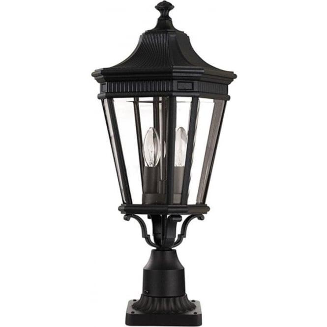 Feiss Cotswold Lane medium pedestal - Black