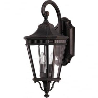 Cotswold Lane medium wall lantern - Bronze