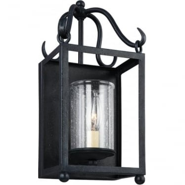Declaration Single Light Wall Light Antique Forged Iron