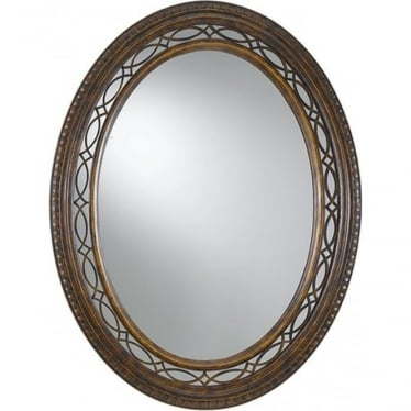 Drawing Room Mirror Walnut