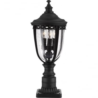 English Bridle medium pedestal - Black