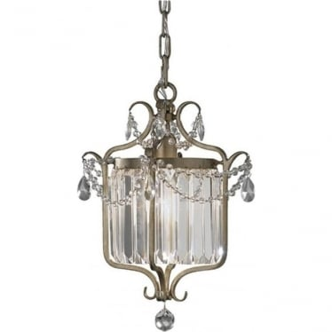 Gianna Duo-Mount Pendant Gilded Silver