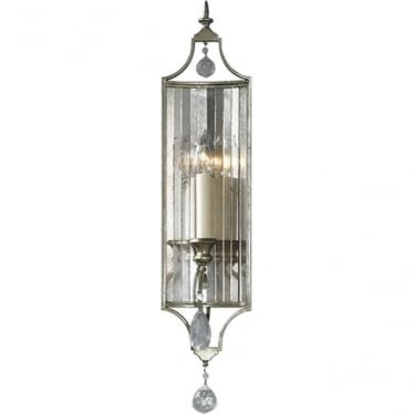 Gianna Single Wall Light Gilded Silver