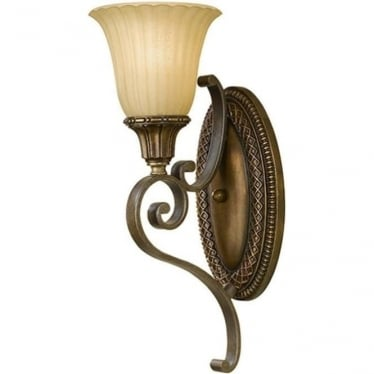 Kelham Hall Wall Light Firenze Gold/British Bronze