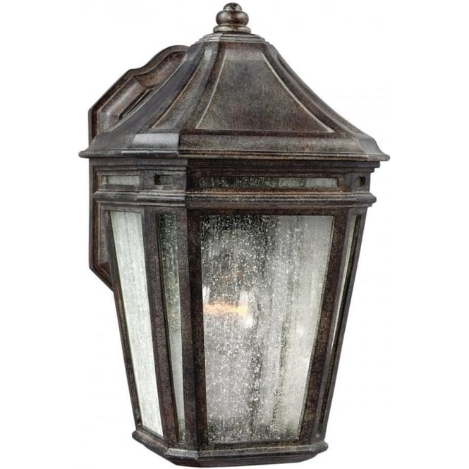 Feiss Londontowne Wall Lantern Weathered Chestnut