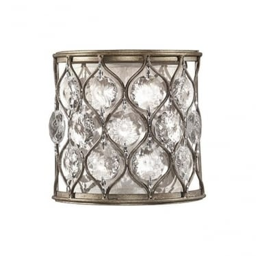 Lucia Wall Light Burnished Silver