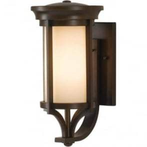 Merrill small wall lantern - Bronze