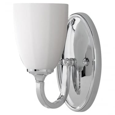 Perry Single Wall Light Polished Chrome