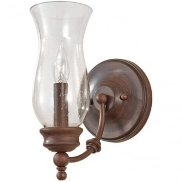 Pickering Lane Single Wall Light Heritage Bronze