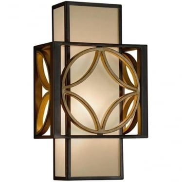 Remy Wall Sconce Heritage Bronze & Parisienne Gold