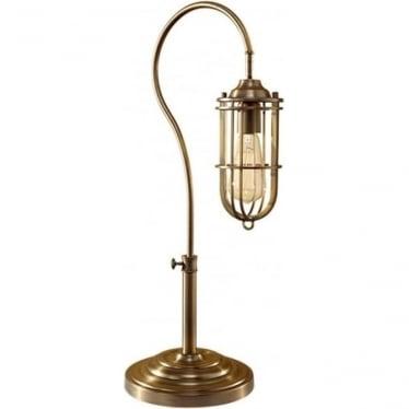 Urban Renewal Table Lamp Dark Antique Brass