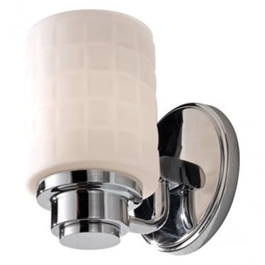 Wadsworth Single Wall Light Polished Chrome