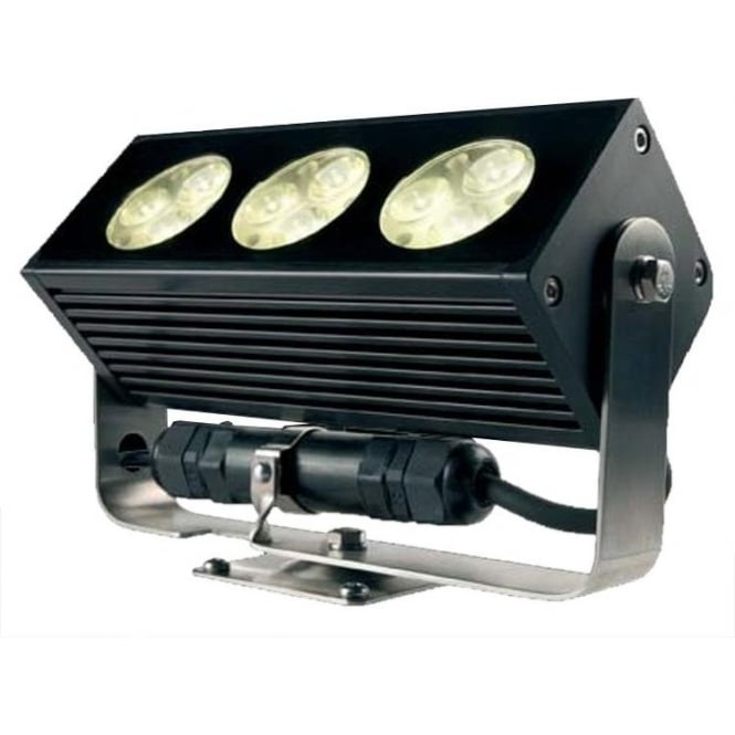 Collingwood Lighting FL200 Dimmable linear LED MAINS flood light Universal Light - Anodised aluminium