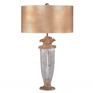 Bienville Table Lamp - Silver/Gold