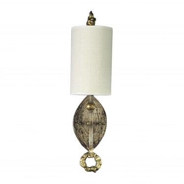 Dumaine Single Light Wall Fitting - Gold