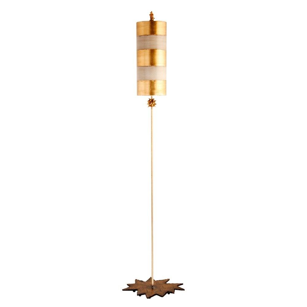 Nettle floor lamp gold