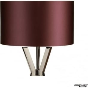 "Floor Lamp Shade Damson 18""/450mm"