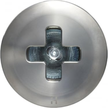 Floor Light Cross Design - stainless steel - Low Voltage