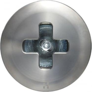 Floor Light Cross Design - stainless steel - Low Voltage