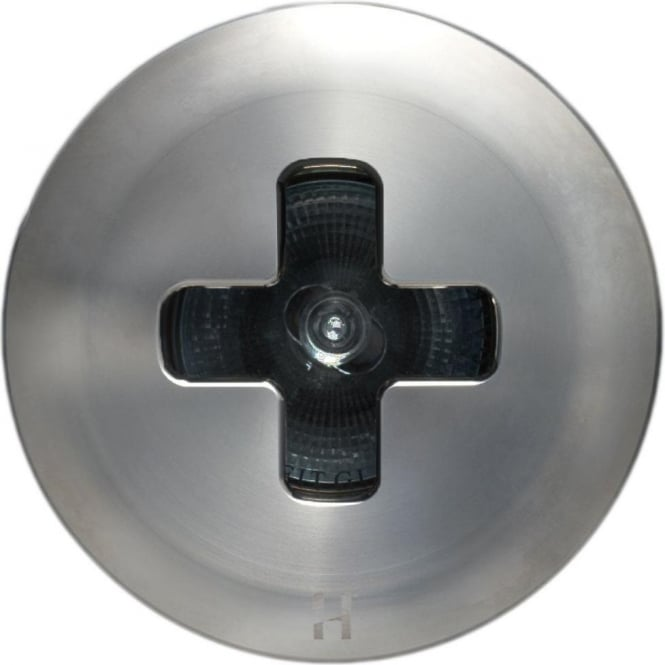 Hunza Outdoor Lighting Floor Light Dark Lighter Cross Design - stainless steel  - Low Voltage
