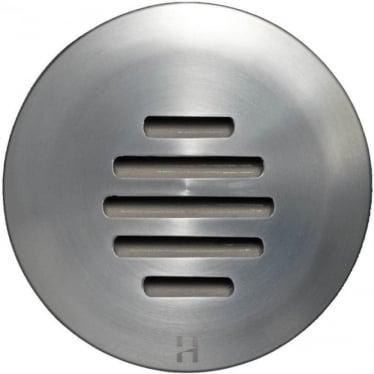 Floor Light Dark Lighter Louvre Design - stainless steel  - Low Voltage