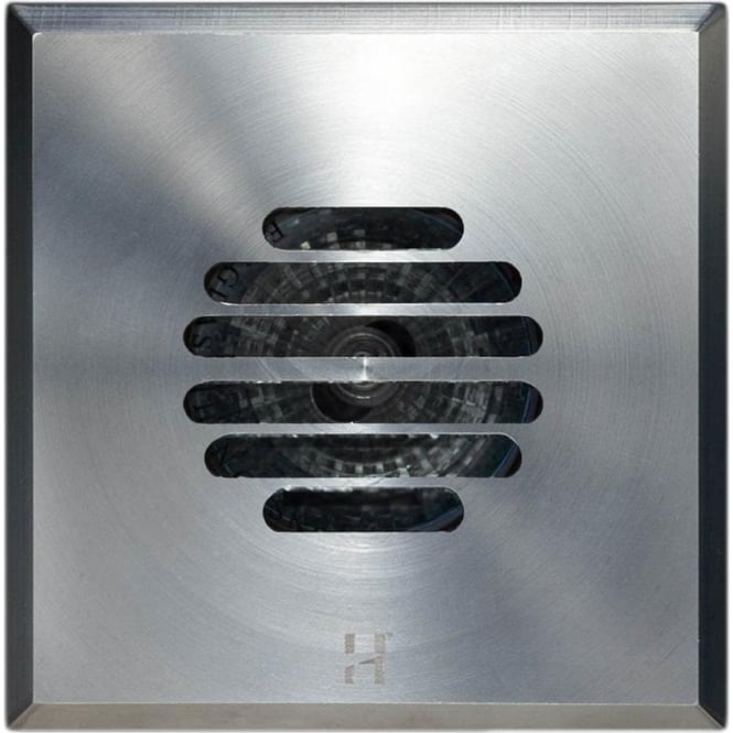 Hunza Outdoor Lighting Floor Light Dark Lighter Square Grill Design - stainless steel  - Low Voltage