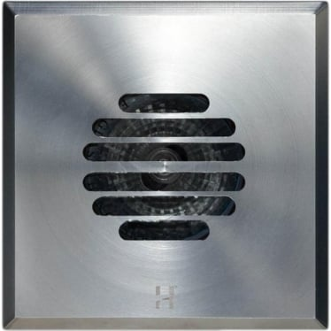 Floor Light Dark Lighter Square Grill Design - stainless steel - Low Voltage