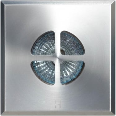 Floor Light Square Clover Design - stainless steel - Low Voltage