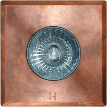 Floor Light Square Spot Design - copper - Low Voltage