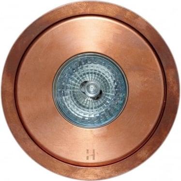 Flush Floor Light GU10 - copper- MAINS