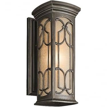 Franceasi Medium wall lantern - Bronze