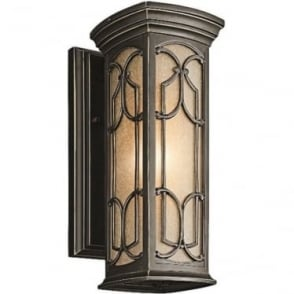 Franceasi small wall lantern - Bronze