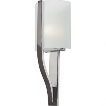 Freeport Single Light Bathroom LED Wall Light IP44 Polished Chrome