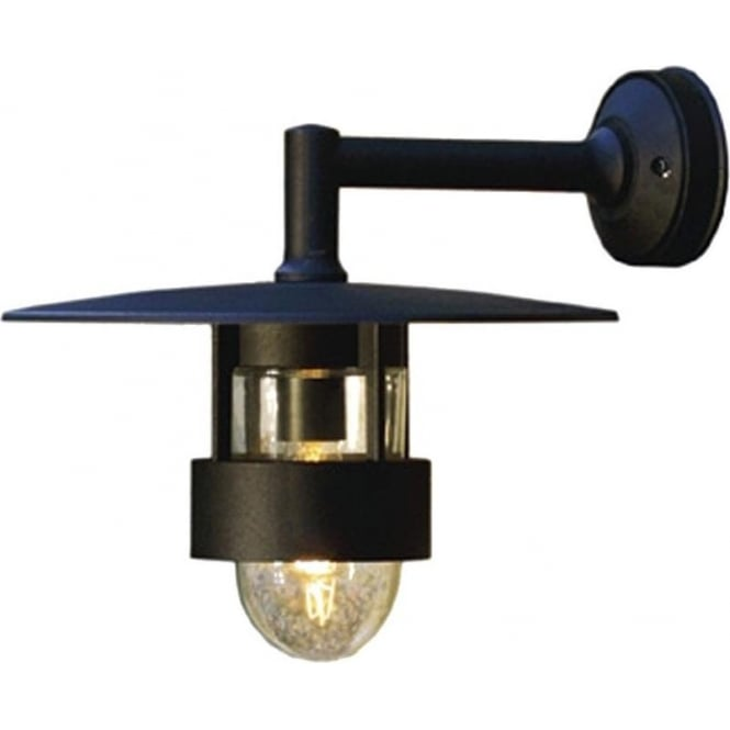 Konstsmide Garden Lighting Freja wall light - black 504-750