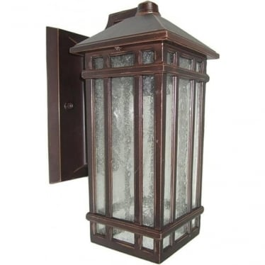 GZH Chedworth wall lantern - Old Bronze