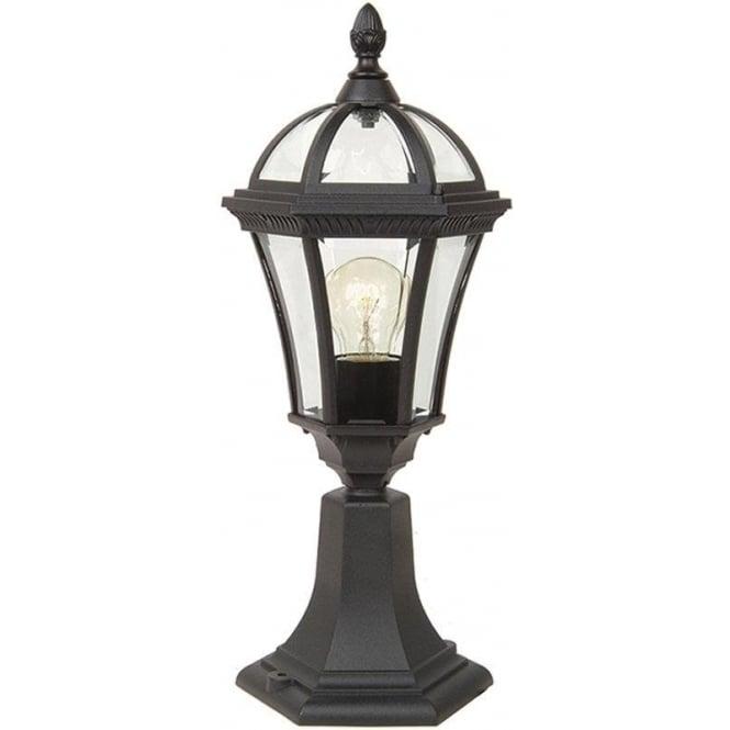 Gardenzone GZH Ledbury pedestal lantern - Black