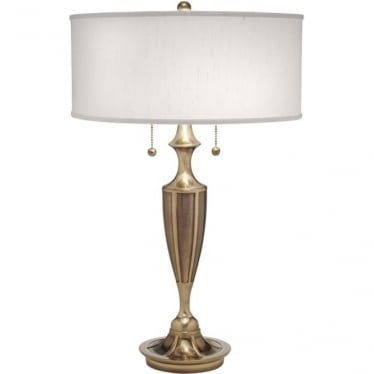 Gatsby Zinc Cast Table Lamp Burnished Brass