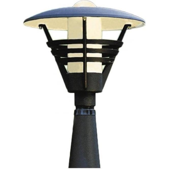 Konstsmide Garden Lighting Gemini post light - black 502-750
